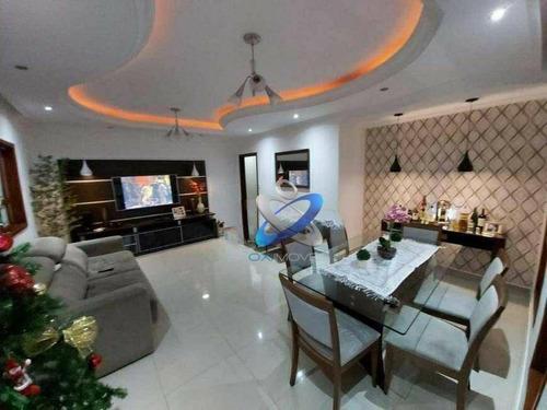 Imagem 1 de 7 de Casa Com 3 Dormitórios À Venda, 183 M² Por R$ 950.000 - Urbanova - São José Dos Campos/sp - Ca1020