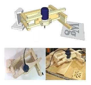 Planos Construye Pantógrafo Duplicador Para Router Fresador