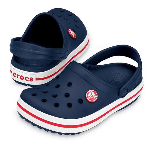 Crocs Crocband Niño Unisex Azul Original
