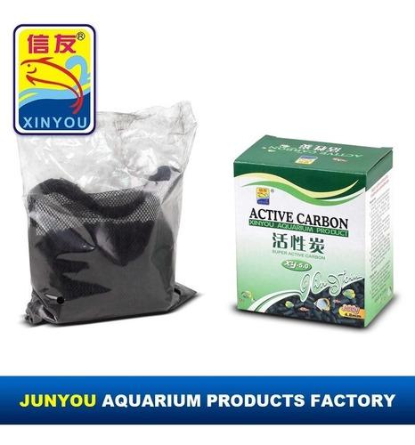 Carbon Activado Acuario Filtro Agua Canister Cascada 300 Gr