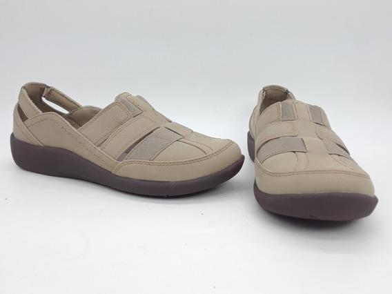 Clarks Sillian Stork Zapatos Comodos Marron Talla 22.5 Mex