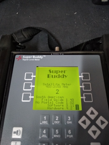 Buscador /medidor Satelital Súper Buddy