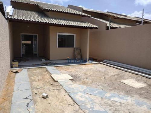 Casa Plana Em Aquiraz - Ca0949