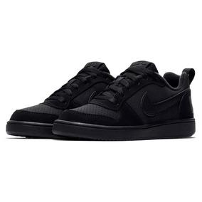 Tênis Nike Infantil Court Borough Low Couro Original - Nº 37