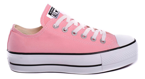 Zapatillas Converse Chuck Taylor All Star Lift -166632c- Tri