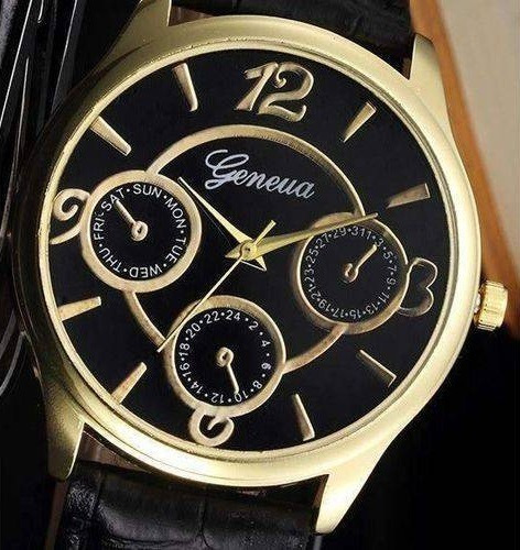 Relógio Masculino Clássico Luxo
