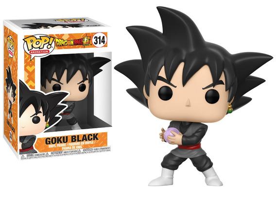 Funko Pop Dragon Ball Super Goku Black #314 Figura Vinil