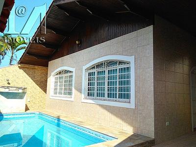 Itanhaem Casa Com Piscina E 3 Quartos , Proxima Da Praia