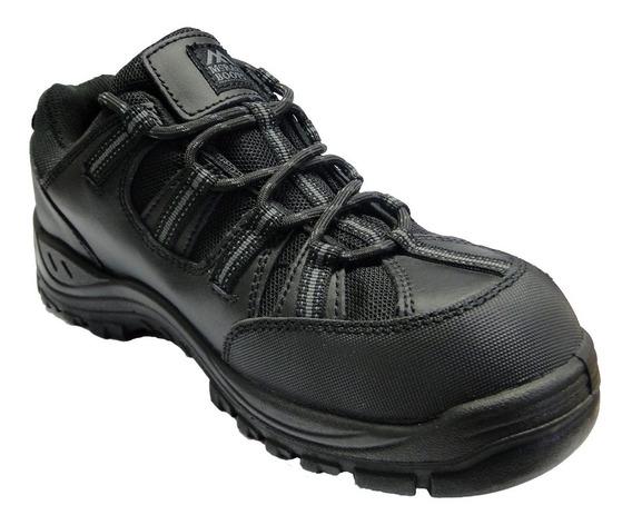 Zapato Negro Con Suela Pu Y Puntera De Composite Mr9840
