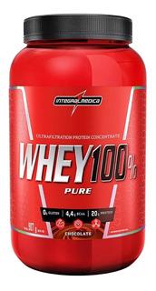 Whey 100% Pure 907g- Integralmedica -promoção