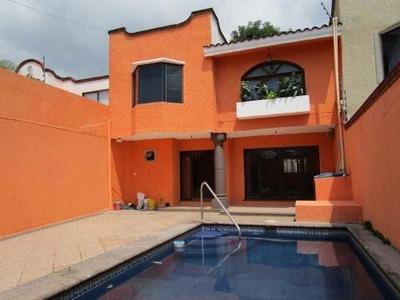 Casa En Venta En Lomas De Cortes. Cuernavaca Morelos.