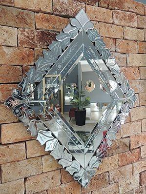 Espelho Decorativo De Parede Veneziano Hja 13047
