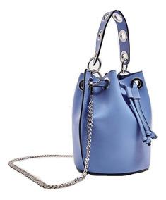 e603aeceb Cartera Zara Bucket Blue