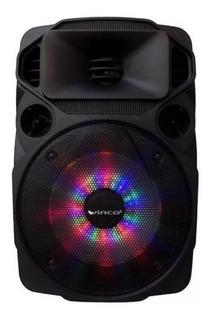 Parlante Portátil Winco W235 Bluetooth Usb Fm Led +microfono