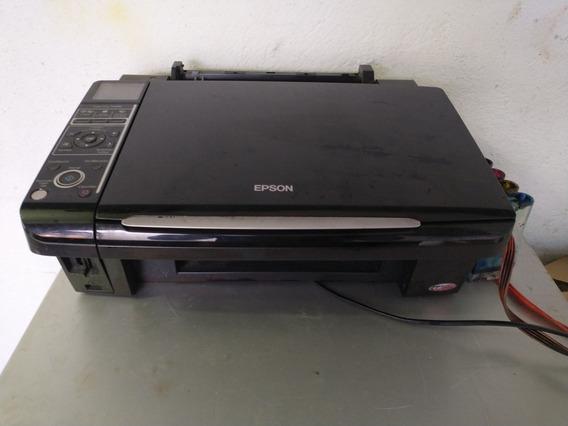 Impressora Epson Stylus Tx400 Usada Com Mensagem No Painel
