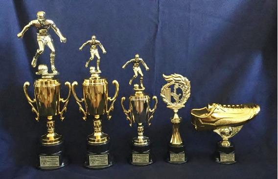Trofeos De Futbol X 5 Unidades -