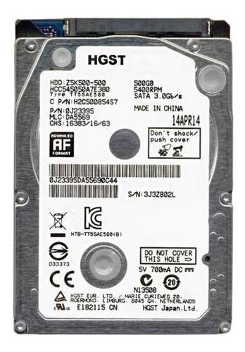 Disco rígido interno Hitachi CinemaStar Z5K500 HCC545050A7E380 500GB