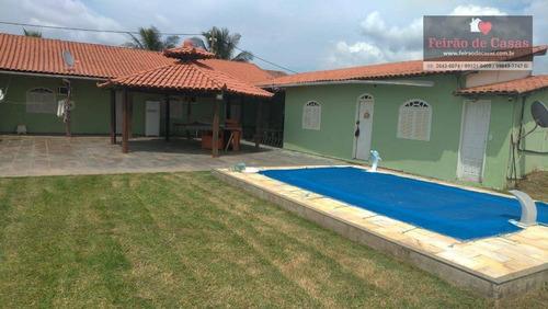Casa Com 3 Dormitórios À Venda, 90 M² Por R$ 320.000,00 - Unamar - Cabo Frio/rj - Ca0050