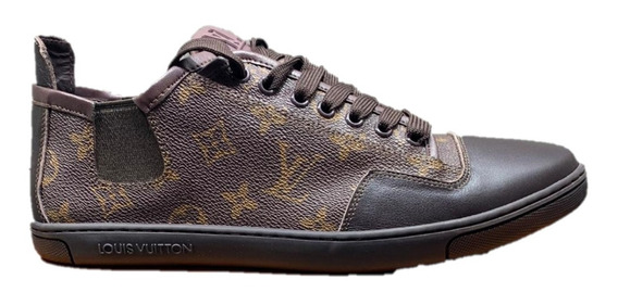 Tenis Sneakers Louis Vuitton Brown, Envío Gratis