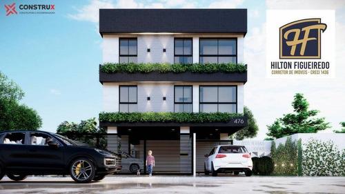 Apartamento Com 2 Dormitórios À Venda, 54 M² Por R$ 219.900,00 - Bessa - João Pessoa/pb - Ap6343