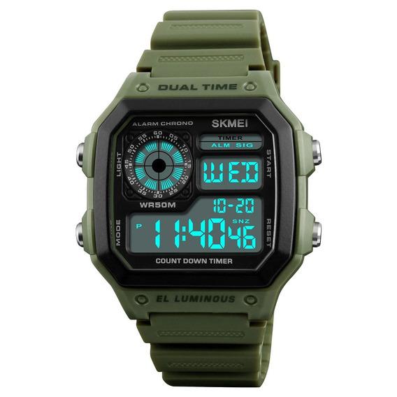 Relógio Masculino Skmei 1299 Esportivo Prova D
