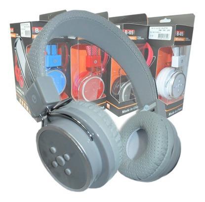 Fone Ouvido Headphone Sem Fio Bluetooth B05 Cartao Sd-001