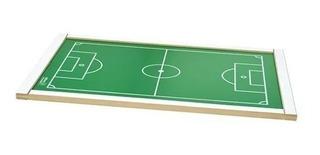 Brinquedo Campo De Futebol De Botão Grande 62x42x02 Junges
