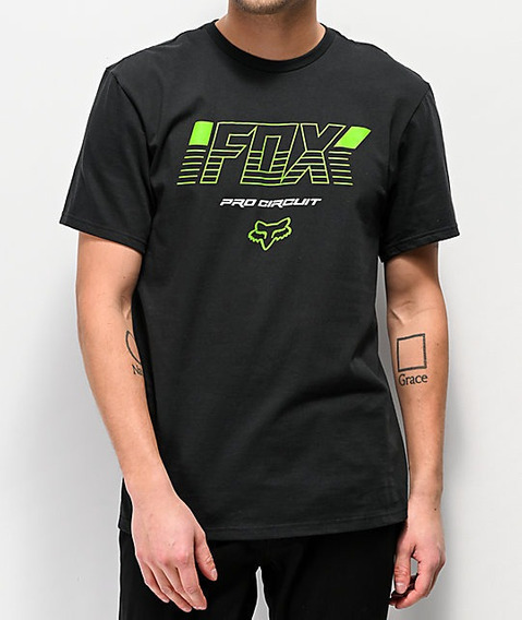 Playera Sport Para Hombre Marca Fox Pro Circuit Ss Tee