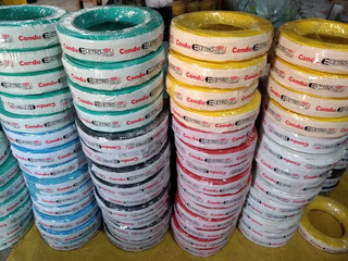 Fio Eletrico Cabo Flexivel 2,5mm 100 Metros Colorido