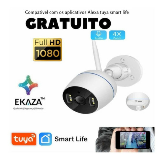 Camera Wifi Ip Externa Ip66 A Prova D