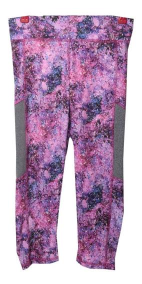 Pantalon, Color Rosa Con Morado, Talla Mediana, Ift