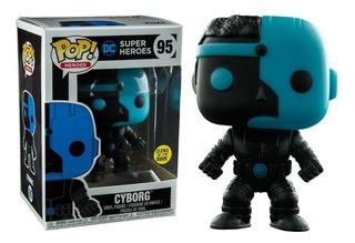 Funko Pop! Dc: Cyborg Brilla En La Oscuridad
