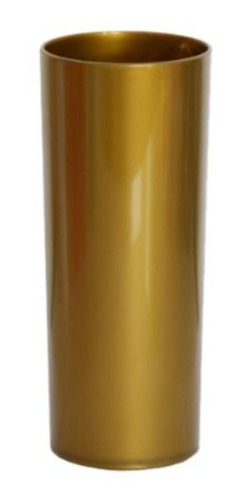 Copo Long Drink Dourado  Fechado - 360 Ml - 01 Unidade - Des