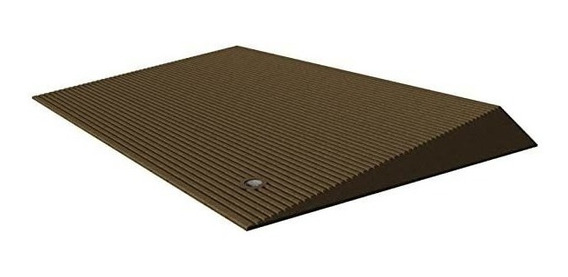 Ez-access Transitions Rubber Angled Entry Mat In Brown, 2.5