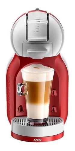 Imagen 1 de 2 de Cafetera portátil Nescafé Arno Dolce Gusto Mini Me automática roja para cápsulas monodosis 220V