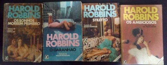 Pac Com 18 Livros Do Harold Robbins