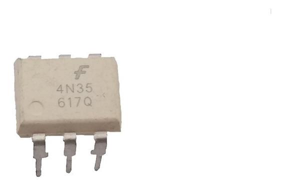 Optoacoplador 4n35 Dip-6 Ic Arduino Pic Arm -10 Pçs