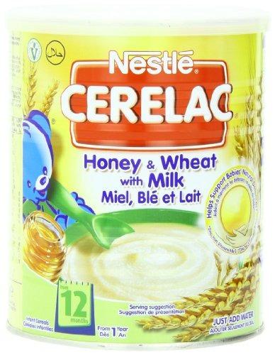 Imagen 1 de 6 de Nestlé Cerelac Miel Y Trigo Con Leche De 12 Meses 1411 On
