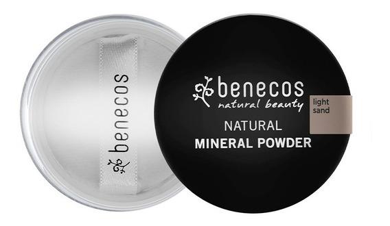 Pó Facial Mineral Solto Orgânico E Vegano 10g - Benecos Light Sand