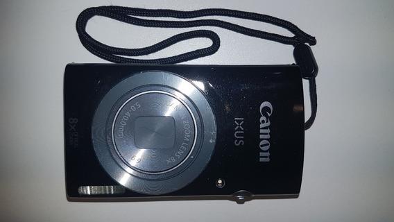 Câmera Digital Canon Ixus 145 + Carregador + Cartão Sdhc 4gb