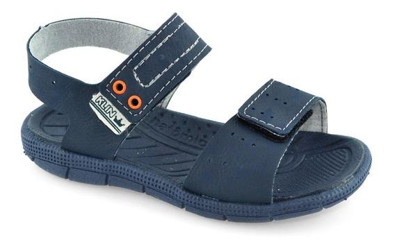 Sandália Infantil Para Menino Klin Tic Tac Conforto 171021