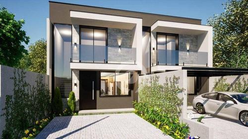 Imagem 1 de 10 de Casa Com 3 Dormitórios À Venda, 131 M² - Solar Do Campo - Campo Bom/rs - Ca1130