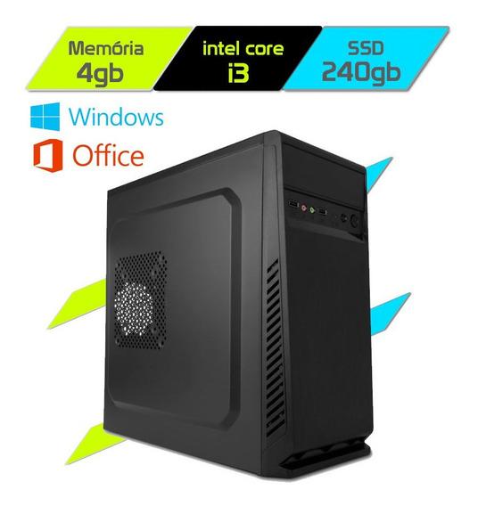 Computador Megatumii Enterprise Pro Core I3 2100 Ssd
