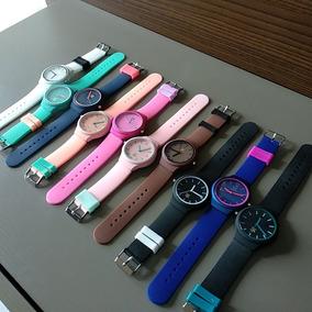 Kit 10 Relógios adidas Color Varias Cores Frete Grátis .