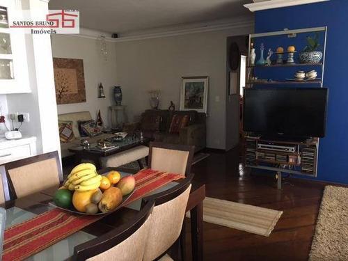Apartamento Com 3 Dormitórios À Venda, 110 M² Por R$ 745.000,00 - Alto Da Lapa - São Paulo/sp - Ap3340