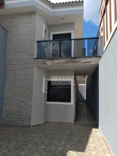 Sobrado Na Vila Matilde Com 3 Dorms Sendo 1 Suíte, 2 Vagas, 100m² - So0804