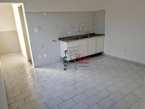 Casa Com 1 Dormitório Para Alugar, 40 M² Por R$ 1.200/mês - Jardim Santo Elias - São Paulo/sp - Ca0879