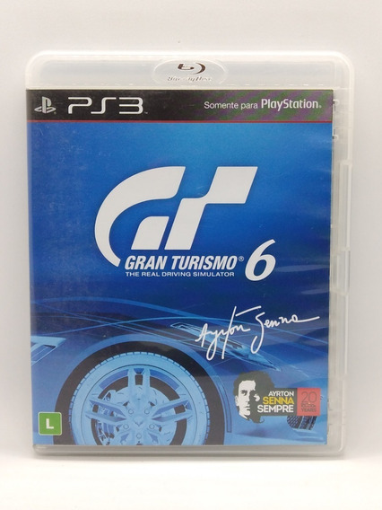 Gran Turismo 6 Ps3 Midia Fisica Portugues Jogo Game Play 3