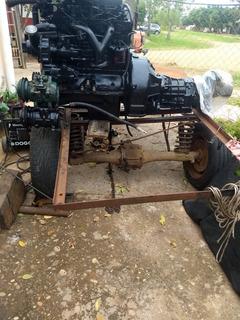 Motor Perkins 4 Potenciado Y Caja 350 4ta