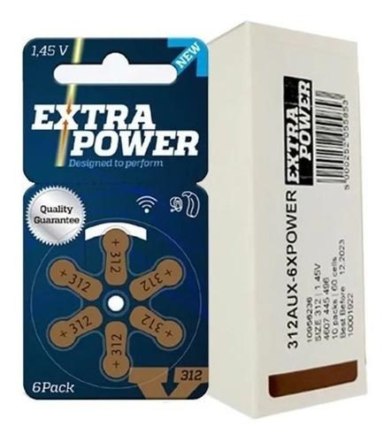 60 Baterias Pilhas Aparelho Auditivo A312 / Pr41 Extrapower